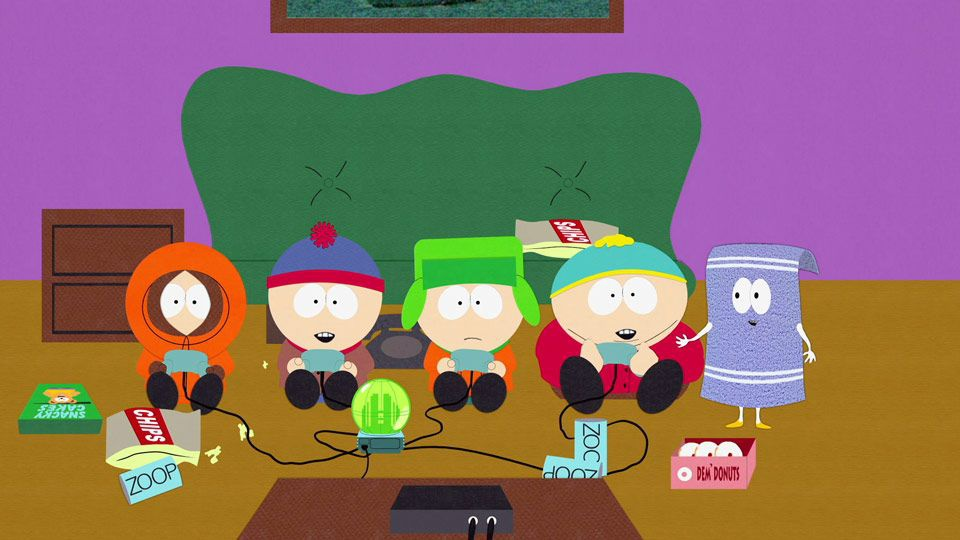 south park video game episode-6