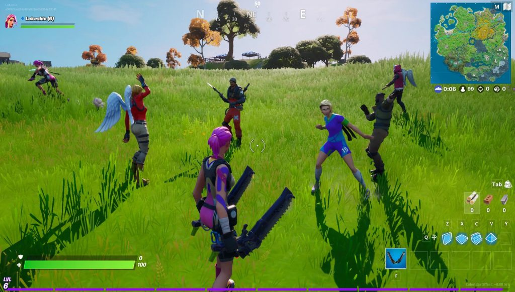 are there bots in fortnite-0