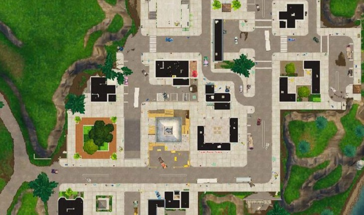 fortnite tilted towers map-1