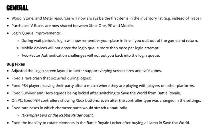 new fortnite patch notes-7