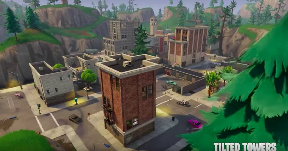 fortnite tilted towers map-3