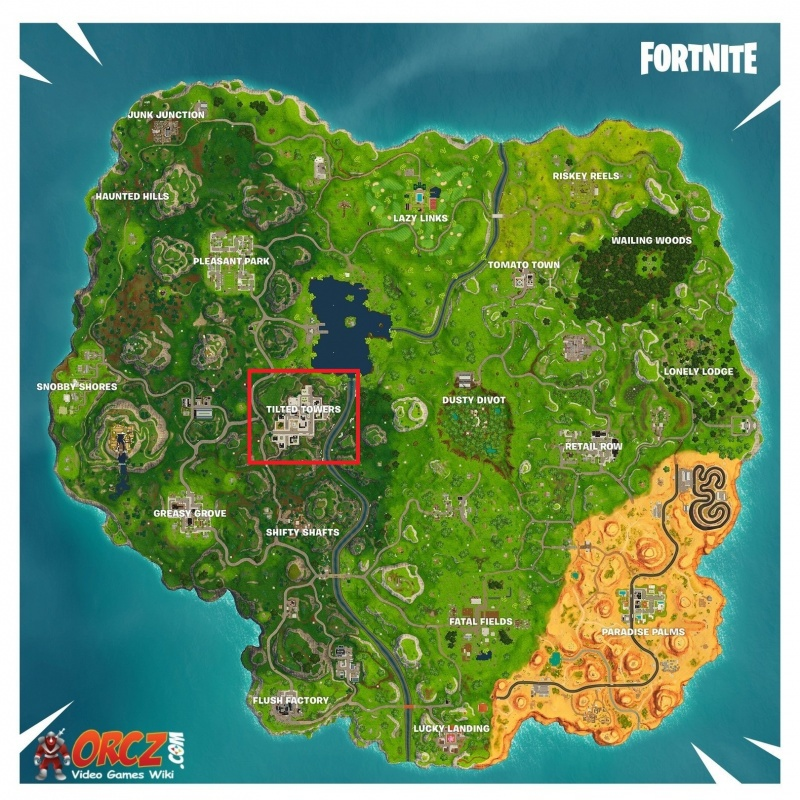 fortnite tilted towers map-4