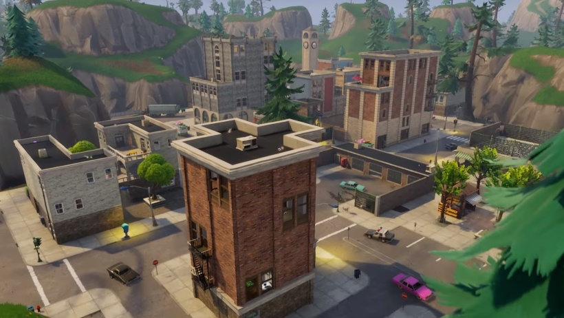fortnite tilted towers map-5