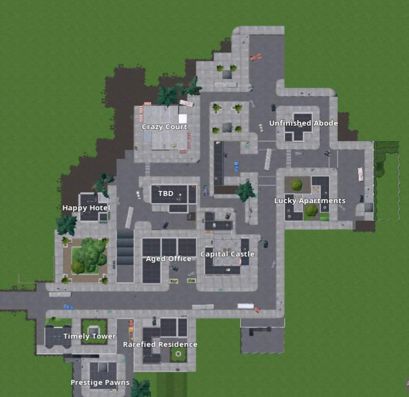 fortnite tilted towers map-6