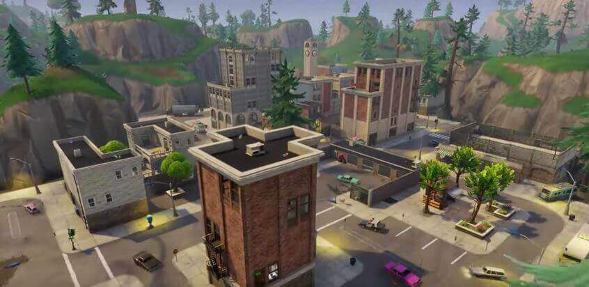 fortnite tilted towers map-7