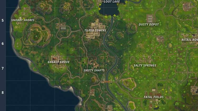 fortnite tilted towers map-8