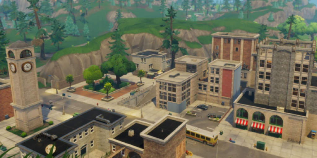 fortnite tilted towers map-9