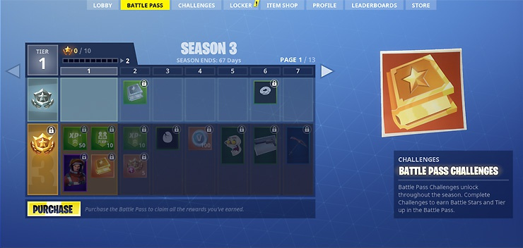 fortnite battle pass 3-6