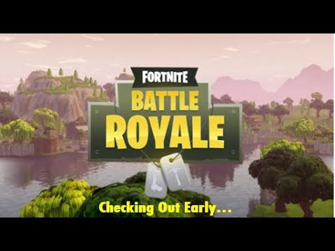 fortnite checked out early-0