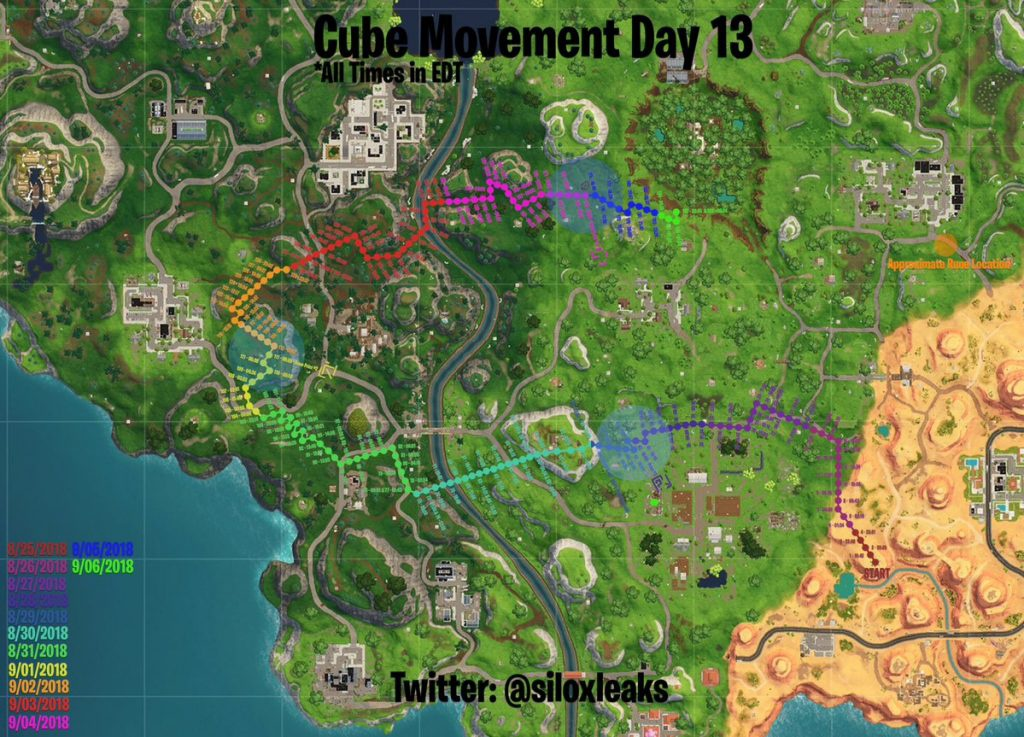 where is the cube in fortnite-1