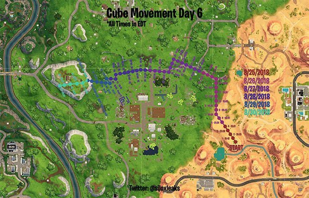 where is the cube in fortnite-3