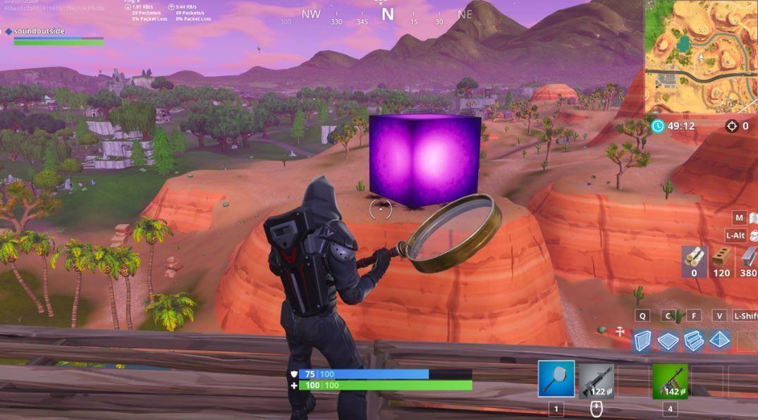 where is the cube in fortnite-5