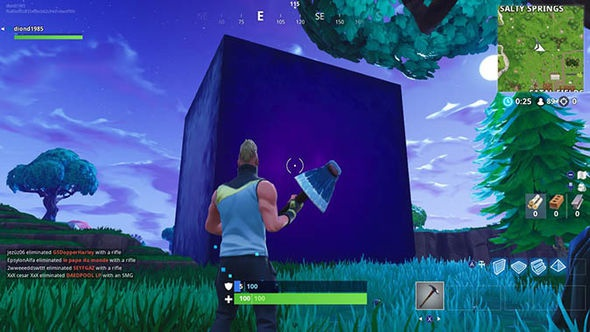where is the cube in fortnite-8