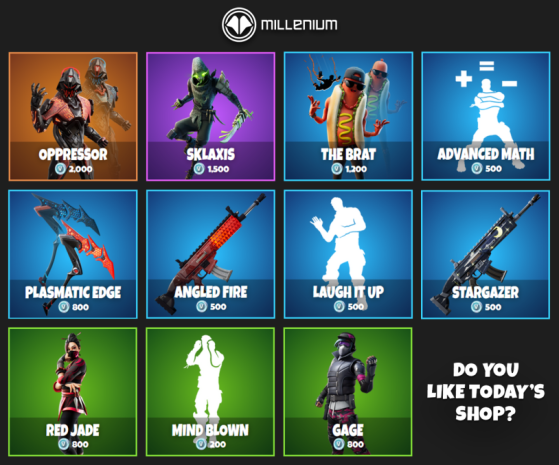 fortnite today's item shop-1