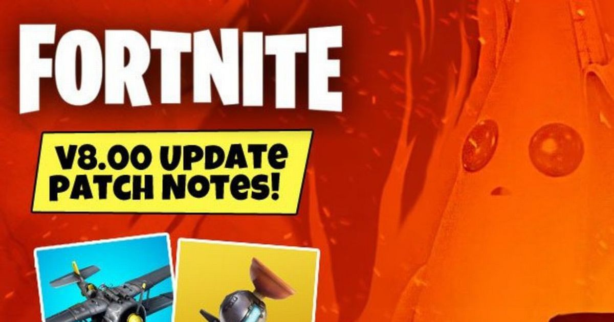 fortnite patch notes 8.00-5