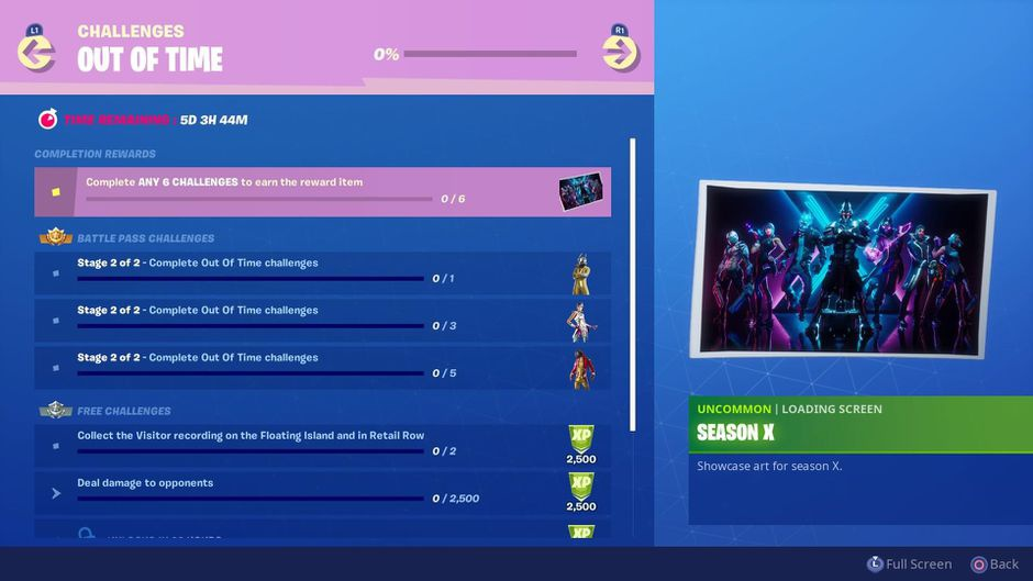 fortnite out of time challenges-6