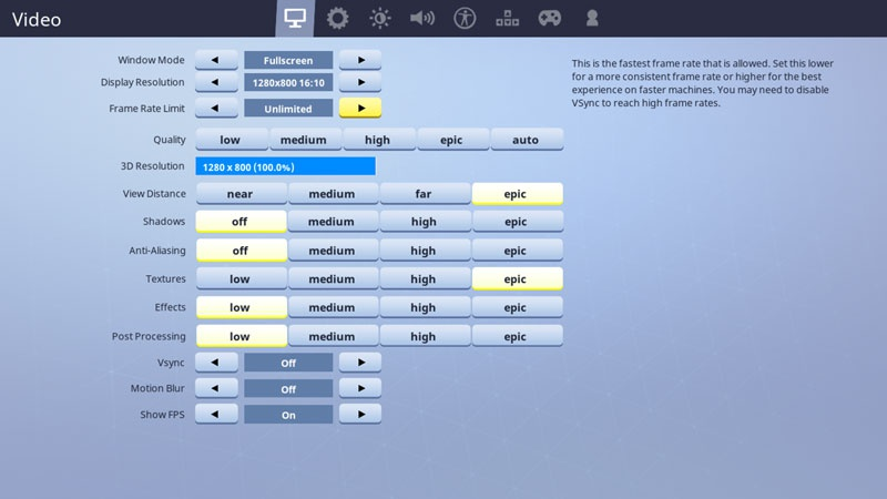 best graphic settings for fortnite-6