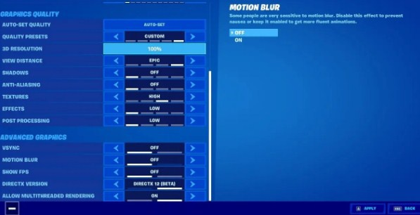 best graphic settings for fortnite-8