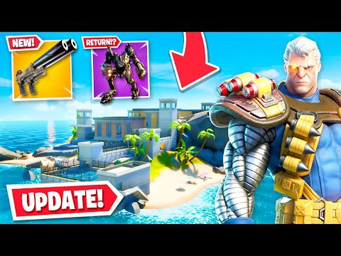 when is the new fortnite update-5