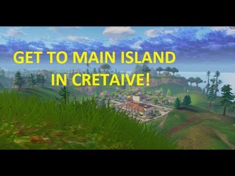 how to get to main island in creative-3