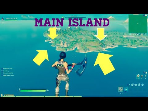 how to get to main island in creative-5