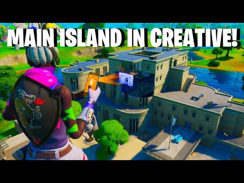 how to get to main island in creative-6
