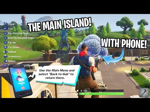 how to get to main island in creative-8
