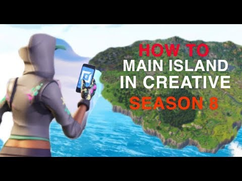 how to get to main island in creative-9