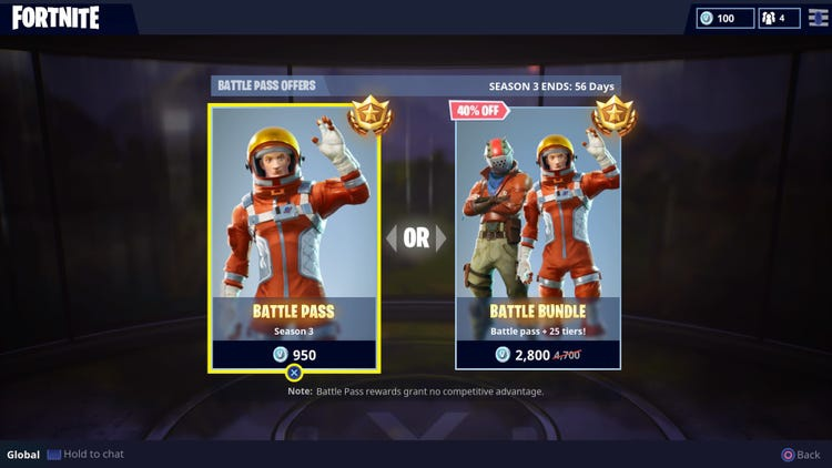 how much is a fortnight-2