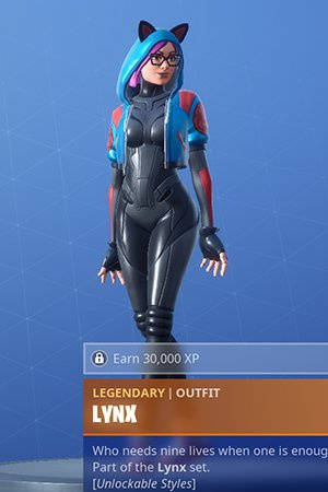 how old is lynx in fortnite-7
