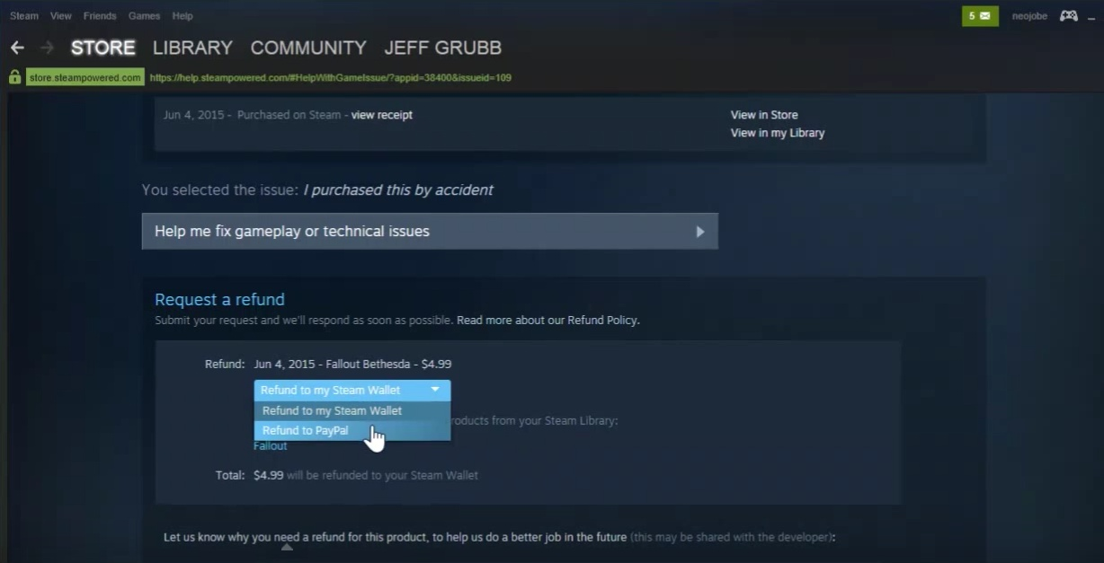 how long do refunds take on steam-2