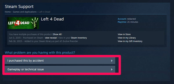 how long do refunds take on steam-4