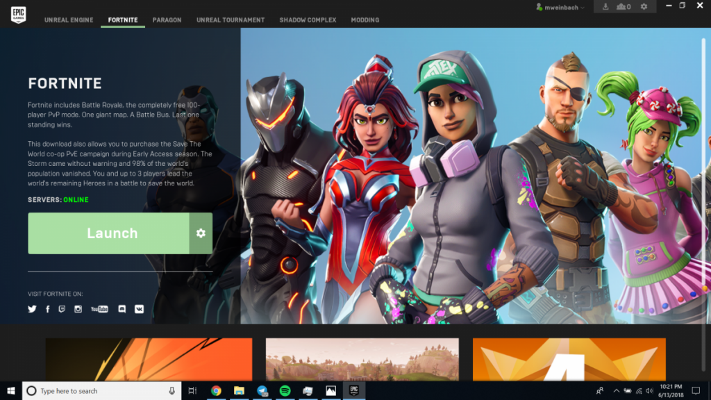 is fortnite on steam-1