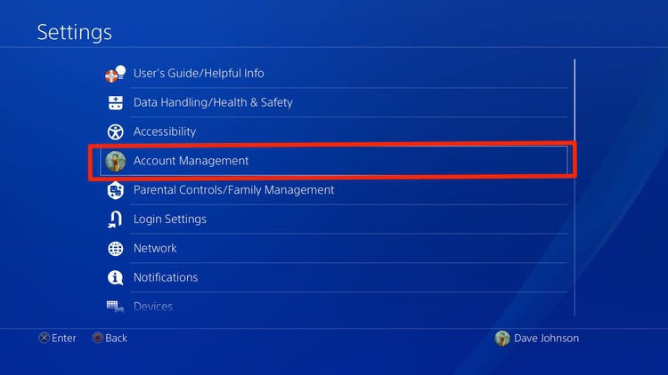 how to change payment method on ps4-0