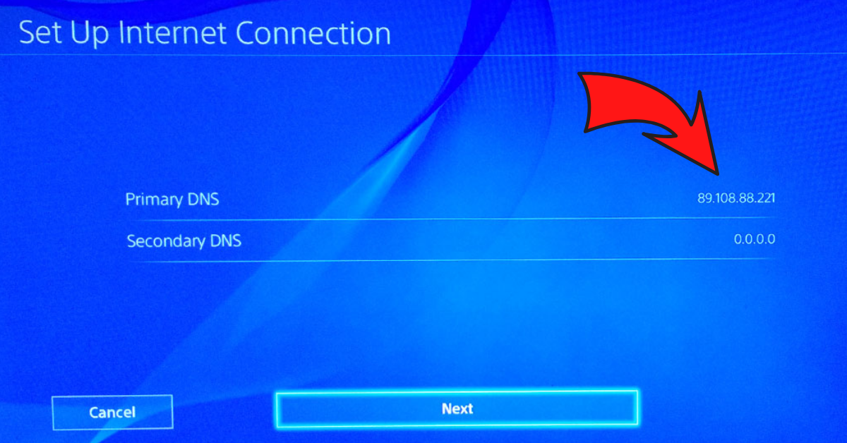 how to change dns on ps4-0