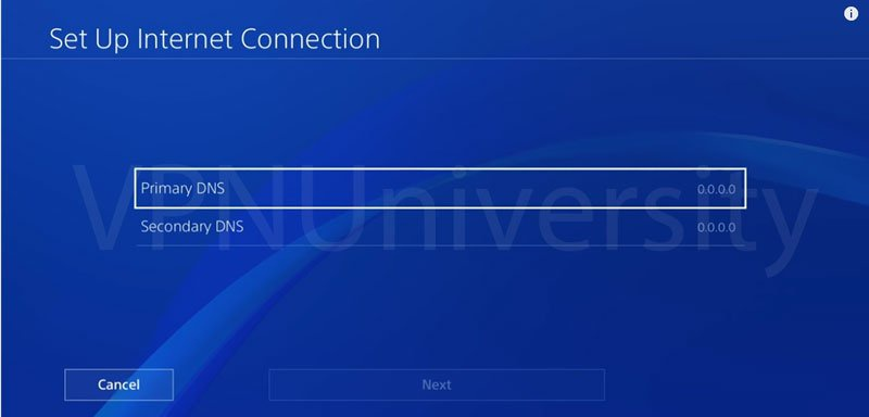 how to change dns on ps4-1