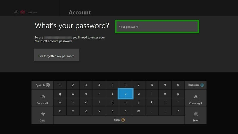 how to change your password on xbox one-0