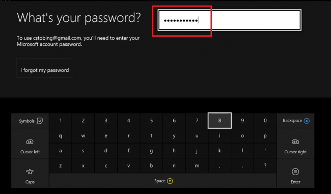 how to change your password on xbox one-1