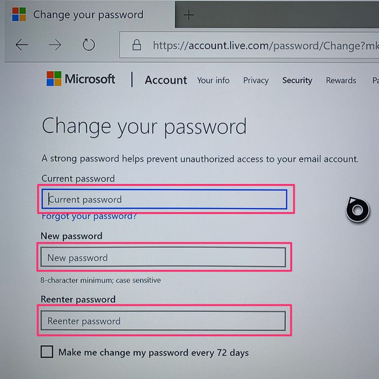 how to change your password on xbox one-7