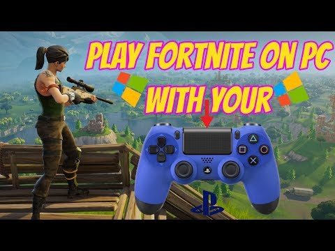 how to connect ps4 controller to pc fortnite-8