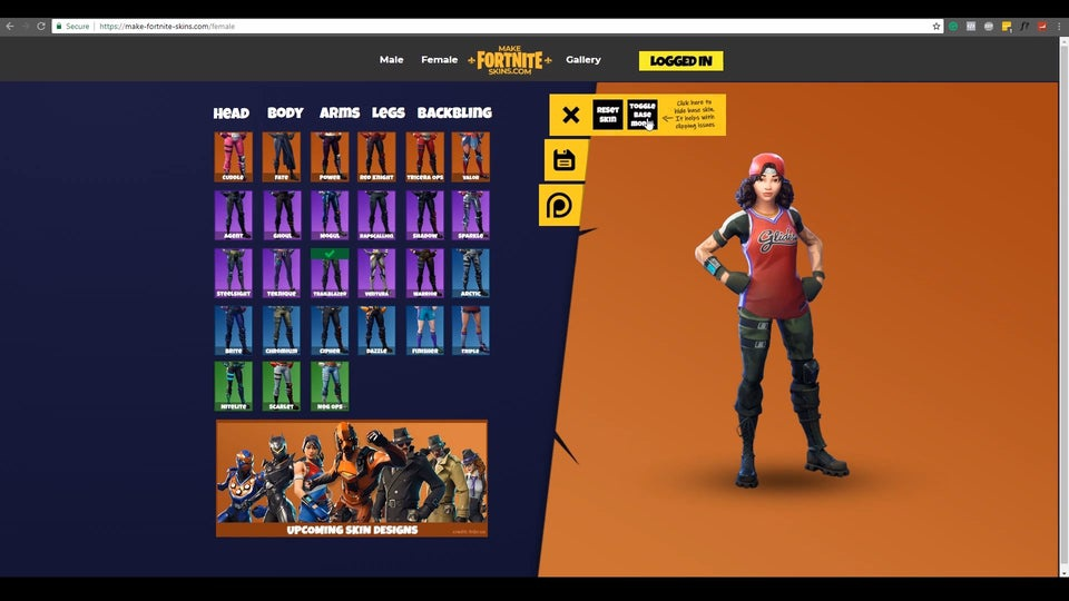 create your own fortnite skin-7