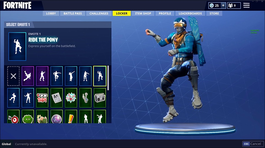 how to dance in fortnite pc-2