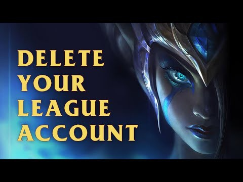 how to delete lol account-1