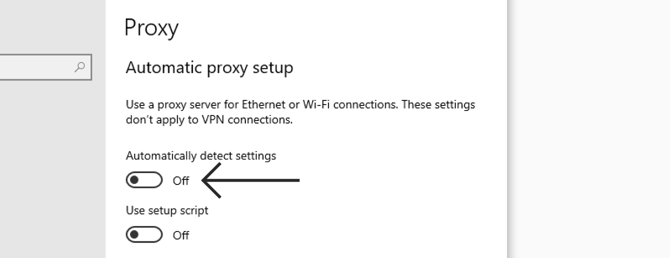 how to disable proxy-4