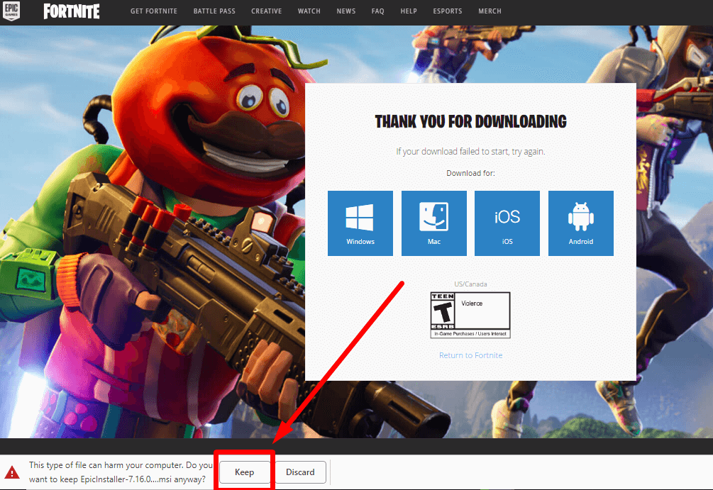fortnite for pc download-1