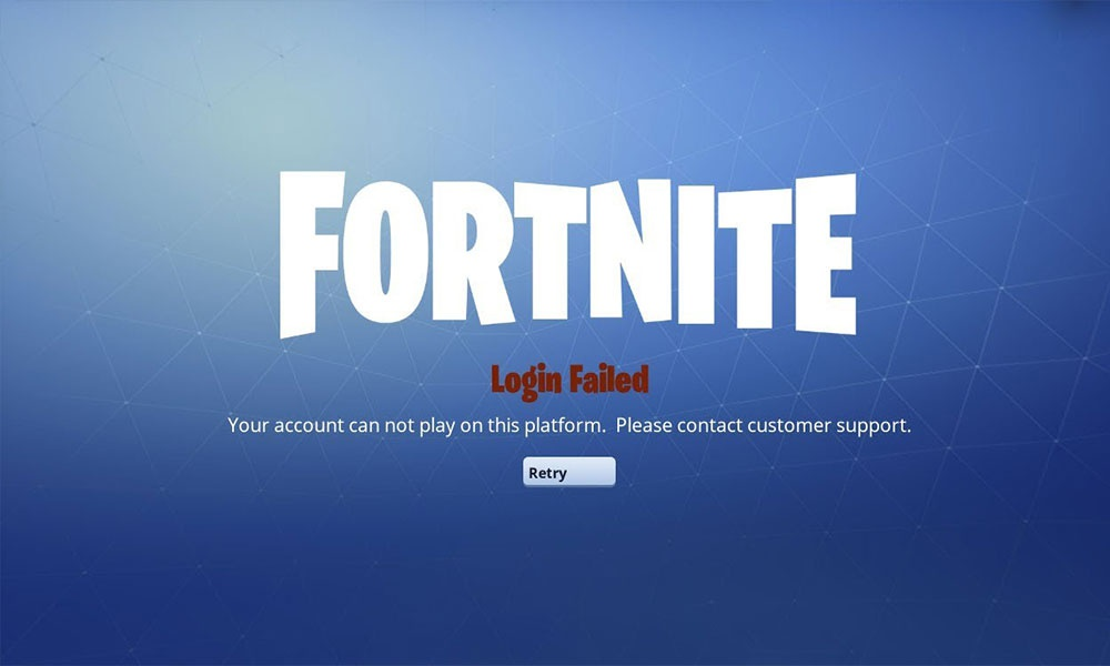 fortnite failed when checking play platform-4