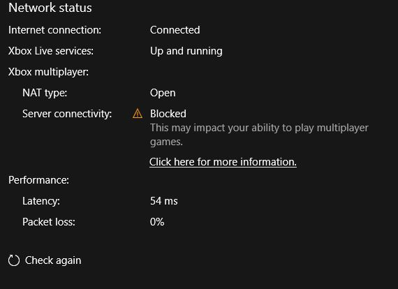 xbox app your network settings are blocking party chat-0