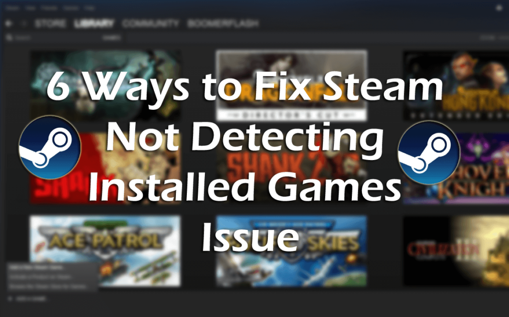 getting steam to recognize installed games-0