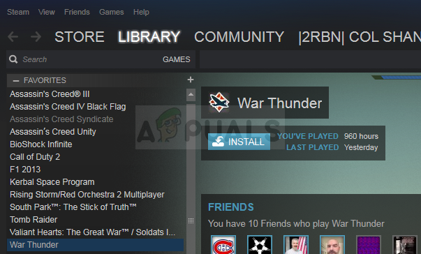 steam installed games are appearing as uninstalled-6