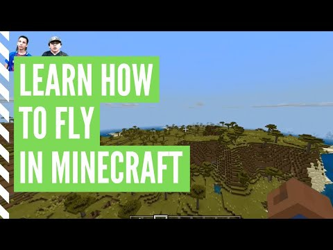 how to fly in creative mode-1